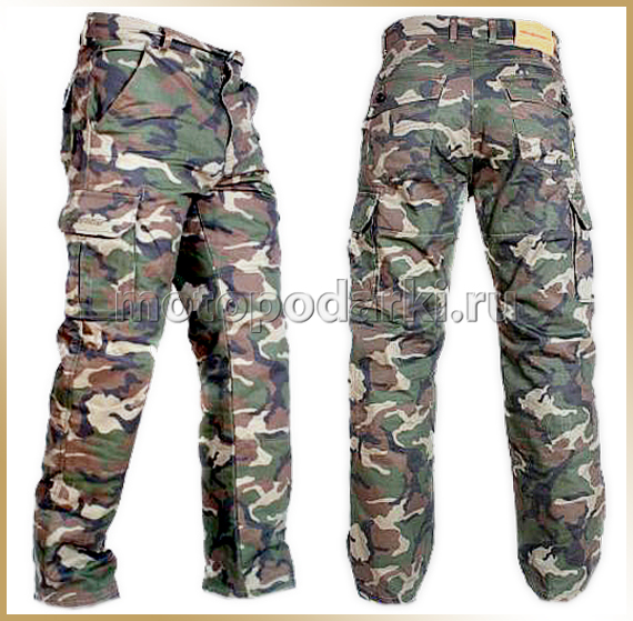 Мотоджинсы AGVSPORT<br>ASSAULT JAENS CAMO