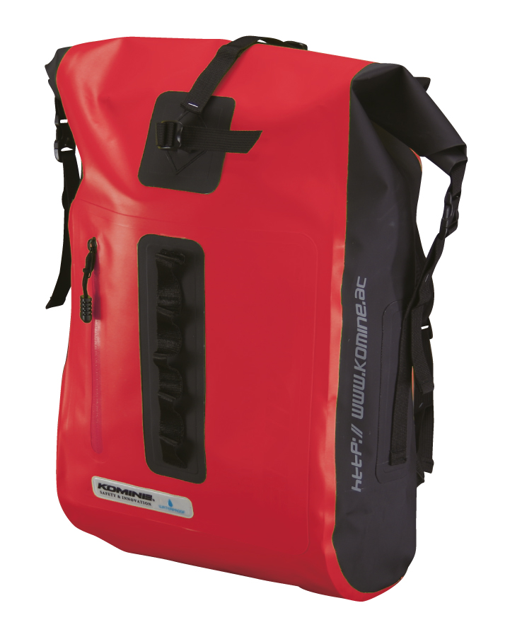 KOMINE моторюкзак WR Back Pack (20л.) Red