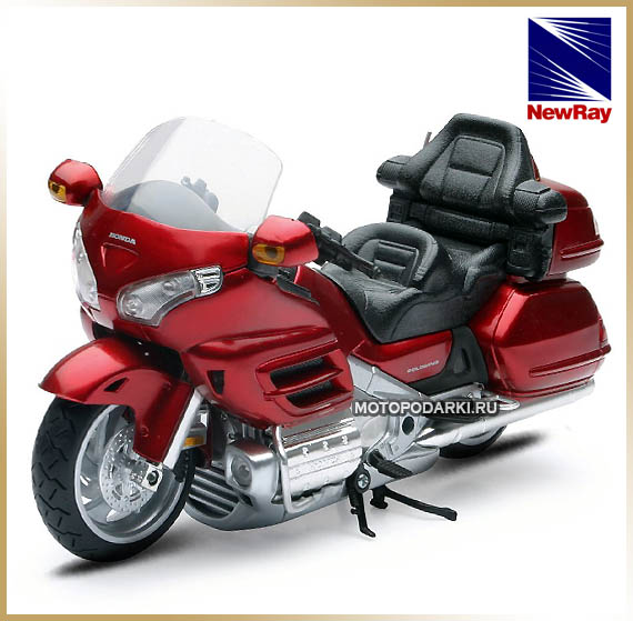 NewRay 1:12 <br>Модель мотоцикла<br>HONDA GOLD WING
