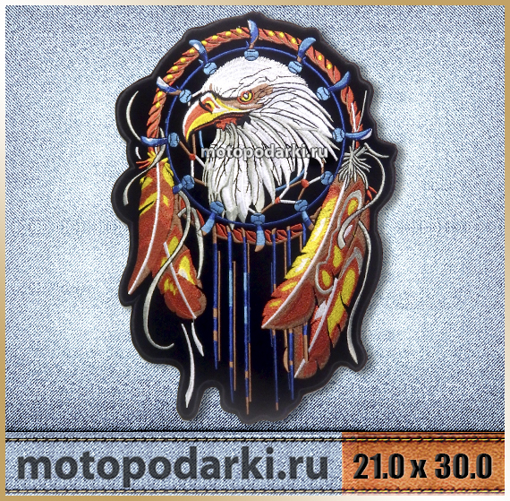 Нашивка на куртку<br>PATCH EAGLE#7 21.0см