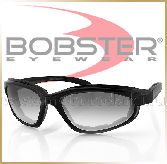 Очки для мотоцикла<br>BOBSTER FAT BOY Clear