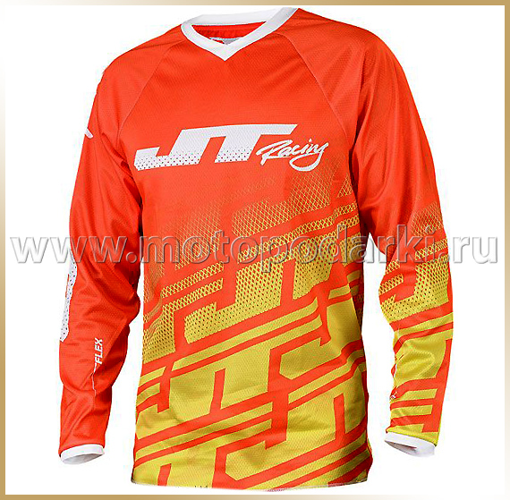 JT Racing<br>Футболка мотокросс<br>ECHO FLEX Orange