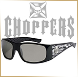 Мотоочки CHOPPERS<br>FIREFLAME White