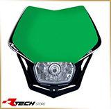 Фара с обтекателем<br>HEADLIGHT V-FACE, green