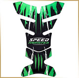 Наклейка на бензобак<br>*SPEED MONSTER* 25cm