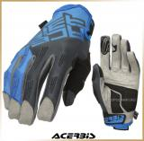 Текстильные перчатки<br>Acerbis MX X-H Blue/Grey