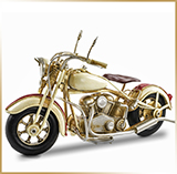 Фигурка мотоцикл металл<br>HAND MADE Chopper#05