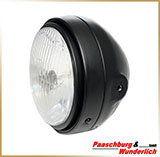 Фара круглая Ø165mm<br>HEADLIGHT 5-3/4&quot;, black