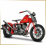Модель мотоцикла металл<br>HD EL KNUCKLEHEAD 1937