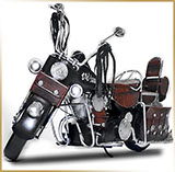 Модель мотоцикла металл<br>HAND MADE Chopper #12