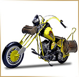 Модель мотоцикла металл<br>HAND MADE Chopper #13