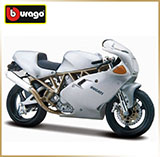 BURAGO 1:18<br>Модель мотоцикла<br>Ducati SUPERSPORT 900FE
