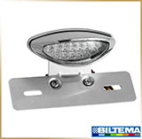 Стоп-сигнал мотоцикла<br>LED TAIL LIGHT, сhrom