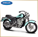 WELLY 1:18<br>Модель мотоцикла<br>Honda VT1100C Shadow