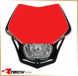 Фара с обтекателем<br>HEADLIGHT V-FACE, red