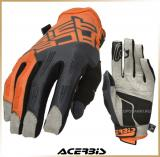 Текстильные перчатки<br>Acerbis MX X-H Orange/Grey