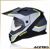 Мотошлем эндуро<br>ACERBIS REACTIVE GRAFFIX grey