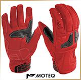 Туристические перчатки<br>MOTEQ VENUS Red