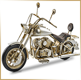 Фигурка мотоцикл металл<br>HAND MADE Chopper#07