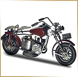 Фигурка мотоцикл металл<br>HAND MADE Chopper#57