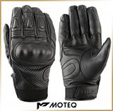 Кожаные перчатки<br>MOTEQ CROSSFIRE