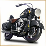 Модель мотоцикла металл<br>HAND MADE Chopper #10