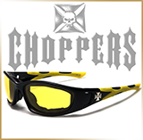 Мотоочки CHOPPERS<br>RUBBER Yellow