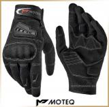Текстильные перчатки<br>MOTEQ TWIST-2 Black