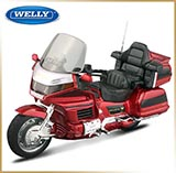 WELLY 1:18<br>Модель мотоцикла<br>Honda GOLD WING 1500