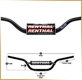 Руль мотоцикла Fatbar®<br>STREET LOW 766/80