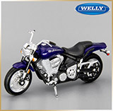 WELLY 1:18<br>Модель мотоцикла<br>Yamaha Road Star Warrior