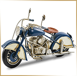 Фигурка мотоцикл металл<br>HAND MADE Chopper#02