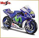 Maisto 1:18<br>Модель мотоцикла<br>YAMAHA №46