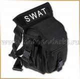 SWAT сумка на бедро TACTICAL BAG Black