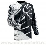 THOR джерси S13 PHASE SPLATTER BLACK