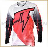 JT Racing<br>Футболка мотокросс<br>2015 HYPERLITE VOLTAGE Black-Red