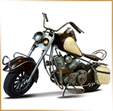 Модель мотоцикла металл<br>HAND MADE Chopper #15