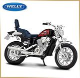 WELLY 1:18<br>Модель мотоцикла<br>HONDA VLX Steed 600