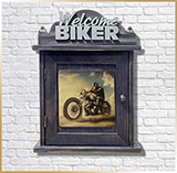 Шкаф для ключей<br>HOOK KEYS *BIKERS*