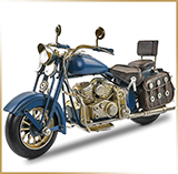 Фигурка мотоцикл металл<br>HAND MADE Chopper#03