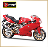 BURAGO 1:18<br>Модель мотоцикла<br>Ducati Supersport 900