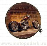 Бокс для дисков CD/DVD ROUND Metall Custom#3