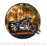 Бокс для дисков CD/DVD ROUND Metall Custom#5