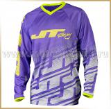 JT Racing<br>Футболка мотокросс<br>2015 FLEX ECHO Purple