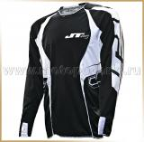 JT Racing<br>Футболка мотокросс<br>EVOLITE Black-White