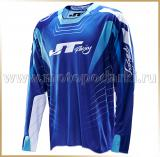 JT Racing<br>Футболка мотокросс<br>2014 HYPER RAZOR Blue-White
