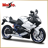 Maisto 1:12<br>Модель мотоцикла BMW<br>HP2 SPORT 2007 White