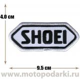 Нашивка логотип<br>Patch SHOEI 9.5см