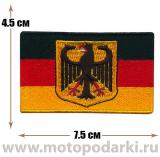 Нашивка флаг GERMANY Flag Emblem 7,5 см