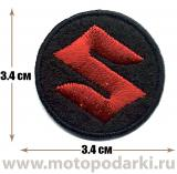 Нашивка логотип<br>Patch SUZUKI Owners 3.4см